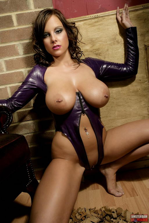 kinky leather lingerie